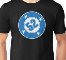 Number 52 with a Bullet Unisex T-Shirt