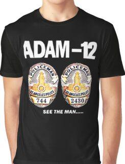 Adam-12 TV Series 70's Retro Graphic T-Shirt