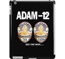 Adam-12 TV Series 70's Retro iPad Case/Skin