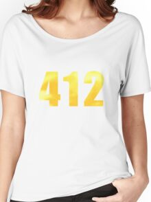 Vintage 412 (Pittsburgh Area Code) Women's Relaxed Fit T-Shirt