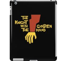 The Knight with the Golden Hand iPad Case/Skin