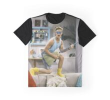Zack Morris - Saved by the Bell Graphic T-Shirt