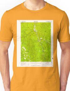 USGS TOPO Map California CA Willow Creek 302000 1952 62500 geo Unisex T-Shirt