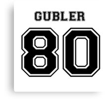 Gubler '80 Canvas Print