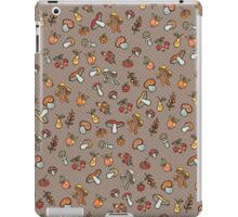 Autumn harvest pattern.Pear,apples,mushrooms iPad Case/Skin