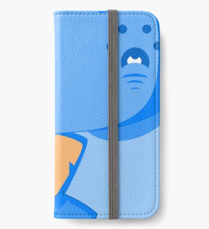 Canis Lupus Familiaris: Icy Blue iPhone Wallet/Case/Skin