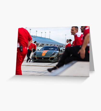 599xx EVO  Greeting Card