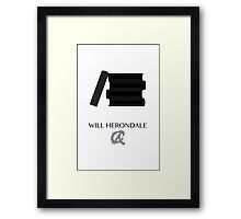 Shadowhunters The Infernal Devices Will Herondale Framed Print