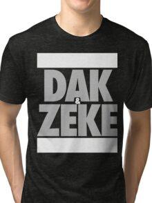 Dak & Zeke (SILVER) Tri-blend T-Shirt