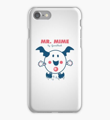 Mister Mime iPhone Case/Skin