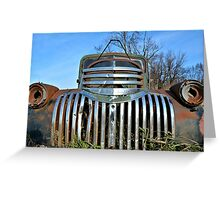 The Old Pickup 3 Greeting Card
