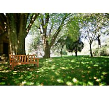 Blue Mountain's Chair Photographic Print