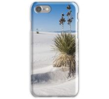 Soaptree yucca, White Sands New Mexico iPhone Case/Skin