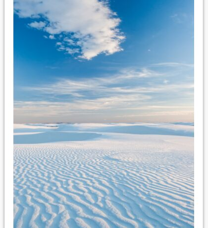 White Sands National Monument, New Mexico Sticker