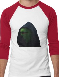 Dark Kermit Men's Baseball ¾ T-Shirt