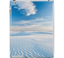 White Sands National Monument, New Mexico iPad Case/Skin