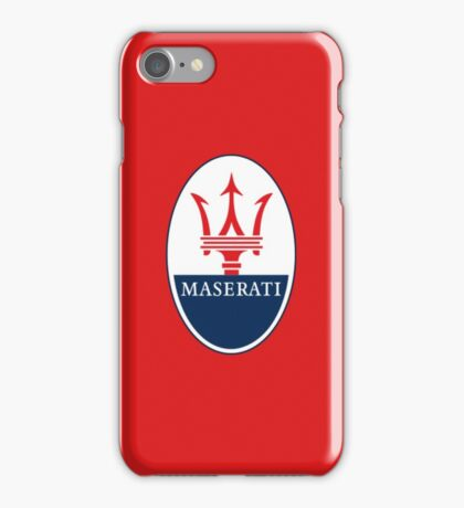 Maserati Design iPhone Case/Skin