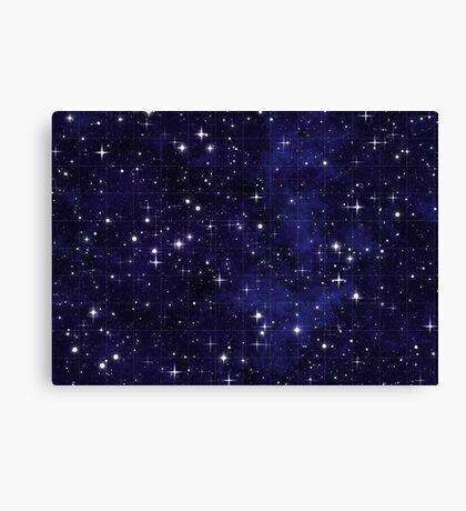 Night Sky Chart Canvas Print