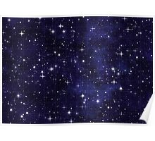 Night Sky Chart Poster
