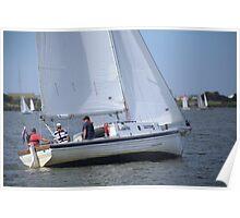 More Terrible Sailing at Goolwa Poster