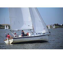 More Terrible Sailing at Goolwa Photographic Print