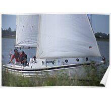 Terrible Sailing at Goolwa Poster