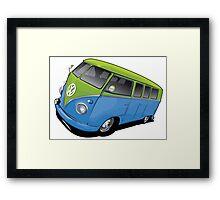 VW Sandy Framed Print