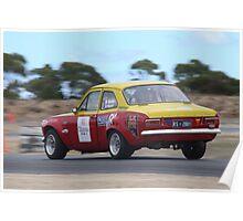 2014 Oz Gymkhana Round 1 - #02 Ford Escort Poster
