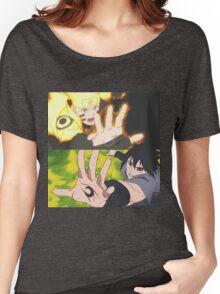 *Naruto and Sasuke* Women's Relaxed Fit T-Shirt