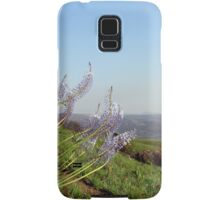Flowers waving to the hills downstairs... Samsung Galaxy Case/Skin