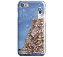 Christmas at the Light iPhone Case/Skin