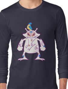 Electabuzz Popmuerto | Pokemon & Day of The Dead Mashup Long Sleeve T-Shirt