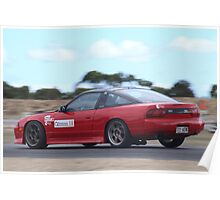 2014 Oz Gymkhana Round 1 - #18 Nissan 180SX (4) Poster
