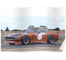 2014 Oz Gymkhana Round 1 - #09 Datsun 240Z (3) Poster
