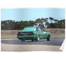 2014 Oz Gymkhana Round 1 - #05 Nissan Bluebird (3) Poster