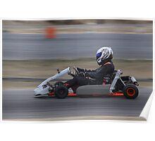 2014 Oz Gymkhana Round 1 - Nathan Nate Dale Shifter Kart Poster