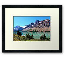 Bow Lake Alberta Framed Print
