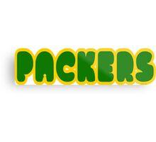 Packers Metal Print
