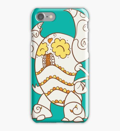 Pinsir Popmuerto | Pokemon & Day of The Dead Mashup iPhone Case/Skin