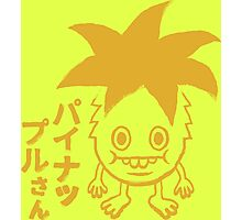 Pineapple-san tee Photographic Print