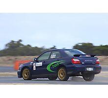2014 Oz Gymkhana Round 1 - #36 Subaru WRX Photographic Print