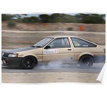 2014 Oz Gymkhana Round 1 - #03 Toyota AE86 Poster
