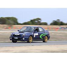 2014 Oz Gymkhana Round 1 - #21 Subaru WRX Photographic Print