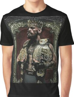 Conor mcgregor THE KING  Graphic T-Shirt
