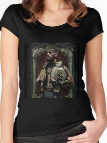 Conor mcgregor THE KING  Women's Fitted Scoop T-Shirt