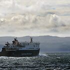 The CalMac Ferry heading from Uig to the Outer Hebrides by Richard Flint