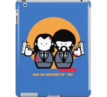 fun pulp fiction iPad Case/Skin