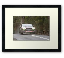 Steve Glenney's Flying GTR Framed Print