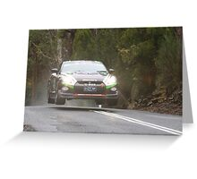 Steve Glenney's Flying GTR Greeting Card