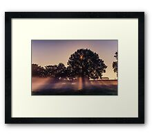 Angel Rays Framed Print